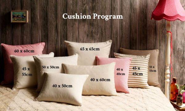 No Chintz Cushion Sizes