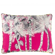 Christian Laxroix Dazzling Printed Palm Patterned Cushion