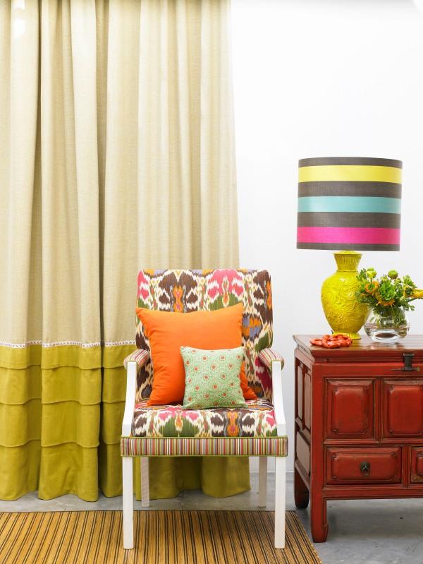 No Chintz Fabrics, Upholstery and Cushions