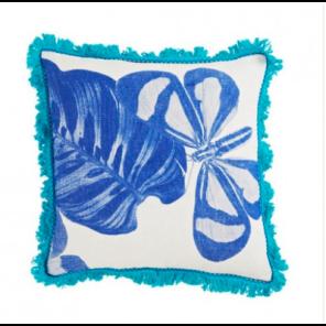 Bonny and Neil Gondwana Cushion in Blue, $145.
