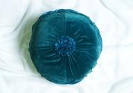 Velvet round cushion nochintz.com
