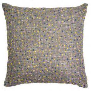 Khanta Large Cushion in Grey/Bright.