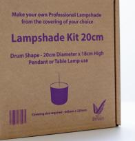 No Chintz Lampshade Kit - make your own shade !!