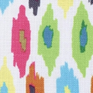 No Chintz 'Mosaic Ikat Multi in Splice'