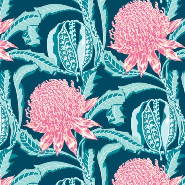 No Chintz Waratah in Ocean