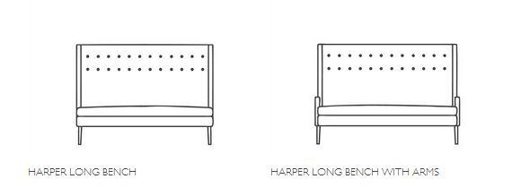Designers Guild Harper Bench