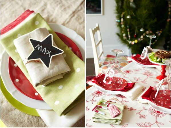 6 ways to dress your christmas table settings miss Christmas table dressing