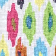 Mosaic Ikat Outdoor Fabric in Multi.