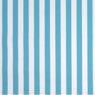Outdoor Stripe in Ocean.