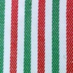 Brighton Stripe in Red and Green