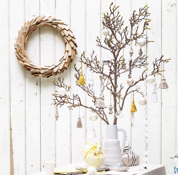 Painted Decorative Tree Display