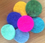 No Chintz Felt Circles