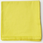 Small Napkins in Yellow