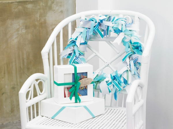 DIY Ribbon Wreath Kit