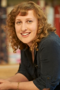 Fabric Designer Natalie Atkinson.