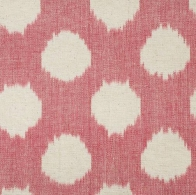 Ikat Spot in Pink.