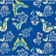 Butterflies in Sapphire