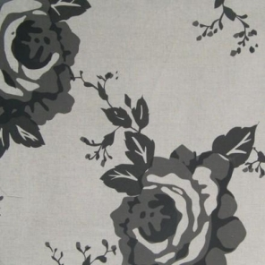 Cloth Rose in Charcoal